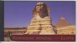 = Carnet Egypte Patrimoine Mondial Memphis Thèbes Isis, Le Caire, Horeb, Abou Mena C531 état Neuf Nations Unies Genève - Carnets