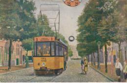 RET Rotterdamsche Electrische Tram Mit 24 Routes (Drehscheibe) / Preise Usw. SELTEN!!! Um 1910 - Strassenbahnen