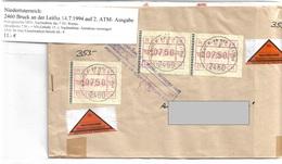 3099k: Heimatbeleg Nachnahmebrief 2460 Bruck An Der Leitha 14.7.1994 - Bruck An Der Leitha