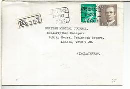 MADRID C C CERTIFICADA SELLOS BASICA - 1931-Hoy: 2ª República - ... Juan Carlos I