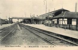 Molsheim * La Gare * Ligne Chemin De Fer - Molsheim