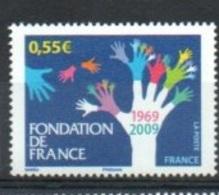 """France 2009 Y&T** N° 4335 """"  Fondation De France """" - Unused Stamps"""