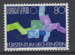 Liechtenstein 1979 Admission Council Of Europe 1v ** Mnh (43402) - Europese Gedachte