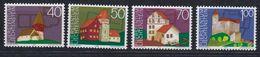 Liechtenstein 1975 European Heritage Year 4v ** Mnh (43402A) - Europese Gedachte