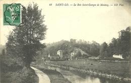 ( SAINT LO  )( 50 MANCHE )  LE BOIS SAINT GEORGES DE MONTCOQ - Saint Lo