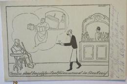 Traum Des Landsturmmannes In Frankreich, Sign. Arnold, Feldpost 1916 (21543) - Weltkrieg 1914-18