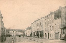 (115)   CPA   Baccarat  Grande Rue  (Bon Etat) - Baccarat