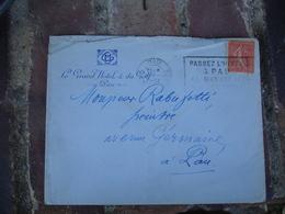 Le Grand Hotel Et Du Golf Pau Enveloppe Commerciale - 1900 – 1949
