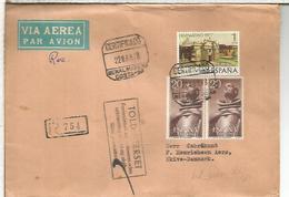 BENALMADENA MALAGA C C CERTIFICADA SELLOS SAN PEDRO DE ALCANTARA RELIGION HISPANIDAD 1977 - 1931-Hoy: 2ª República - ... Juan Carlos I