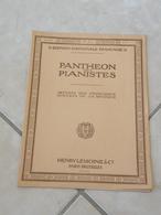 Panthéon Des Pianistes Ouverture Piano Deux Ou Quatre Mains (Musique Beethoven Coriolan) - Partition - Instruments à Clavier