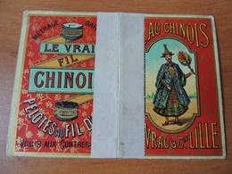 Calendrier Publicitaire 1889 – Fil Au Chinois - Kalenders