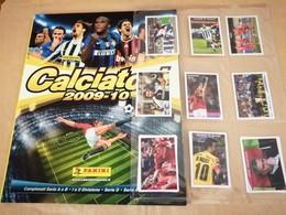 Calciatori 2009/10, Album Vuoto Con Errore+V1 V12 Da Edicola Panini Modena - Panini