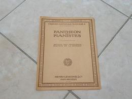 Panthéon Des Pianistes Ouverture Piano Deux Ou Quatre Mains (Musique Beethoven Egmont) - Partition - Instruments à Clavier