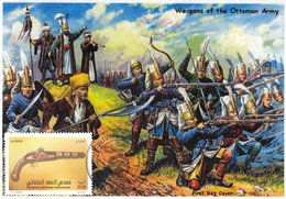 DZ Algeria 1745 FDC Ottoman Pistol Army Battles Firearm Arms Turkish War Ottoman - Militaria
