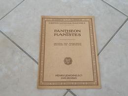 Panthéon Des Pianistes Ouverture Piano, Violon, Violoncelle & Orgue (Musique Weber, Obéron) - Partition - Autres Instruments