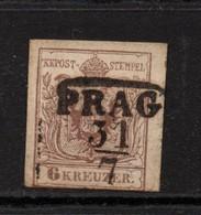 Austria 1850 6K Brown Good Used - 1850-1918 Empire