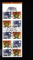 796228874 OCB - BOC 2004 B46 FDC HALOWEEN - WITCH BATS AND BLACK CAT - JACK O LANTERN - HEKS KAT VLEERMUIZEN LANTAARN - Postzegelboekjes 1953-....