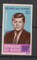 Niger - 1964 - PA N°Yv. 44 - JFK / Kennedy - Non Dentelé / Imperf. - Neuf Luxe ** / MNH / Postfrisch - Niger (1960-...)