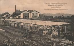 71 Saint Jean Des Vignes Vue Des Serres De Chrysanthemes Villemot Brenot Jardinier Expéditeur - Autres Communes