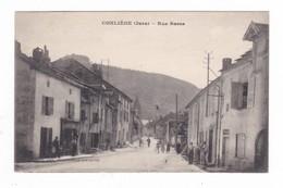 Conliège.39.Jura.Rue Basse.1923 - Autres Communes