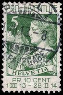 Switzerland 1913 Pro-Juventute Fine Used. - Oblitérés