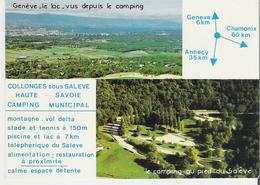 COLLONGES SOUS SALEVE. CP Multivues Le Camping Municipal - Other Municipalities