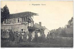 PYPEGAELE ..-- NIEUPORT ..-- 1916 Vers CLERMOND - FERRAND ( Mme COTTIN ) . Voir Verso . - Nieuwpoort