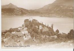 DUINGT. CP Repro Le Château Vers 1910 Offert Par Les éditions Atlas - Duingt