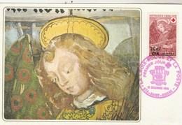 REUNION Carte Maximum Yvert 392 Croix Rouge 12/12/1970 - édition Edicha Pour Croix Rouge - - Réunion (1852-1975)