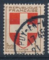 Frankreich 1 F. Gest. Wappen Savoie Kreuz - Briefmarken