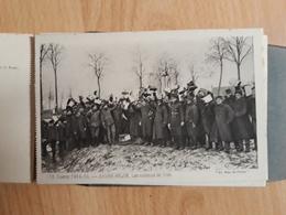 Livret Cpa La Grande Guerre,le Pays De France..24 Cartes - War 1914-18