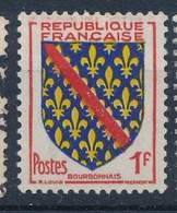 Frankreich 1 F. Gest. Wappen Bourbonnais Lilien - Briefmarken