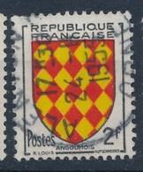 Frankreich 2 F. Gest. Wappen Angoumois - Briefmarken
