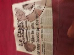 Le Canard Enchaine 4916 Du 14 Janvier 2015 - Zeitungen