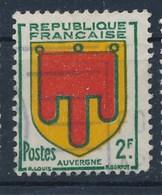 Frankreich 2 F. Gest. Wappen Auvergne - Briefmarken
