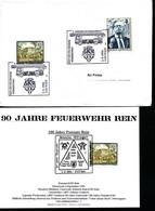 Briefmarken-    Feuerwehr Werbeschau - Feuerwehr
