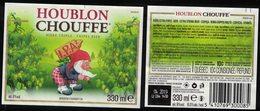 Belgique Lot 2 Étiquettes Bière Beer Labels Houblon Chouffe Triple IPA2 - Beer