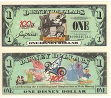 USA   DISNEY $ 1  MICKEY MOUSE   Serie A  2002    GENUINE - United States Of America