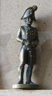MONDOSORPRESA, (SLDN°18) KINDER FERRERO, SOLDATINI IN METALLO  PRUSSIANI 40 MM - Figurine In Metallo