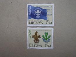 Litauen    Pfadfinder  Europa Cept    2007  ** - Europa-CEPT