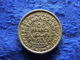 MOROCCO 100 FRANCS 1371/1952, KM52 - Marokko
