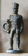MONDOSORPRESA, (SLDN°20) KINDER FERRERO, SOLDATINI IN METALLO  PRUSSIANI 40 MM - Figurines En Métal