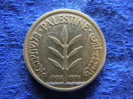 PALESTINE 100 MILS 1935, KM7 - Andere - Azië