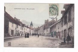 Conliège.39.Jura.Rue Pricipale.1907 - Autres Communes