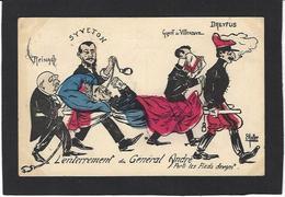 CPA Franc Maçonnerie Masonic Maçonnique Circulé Judaïca Dreyfus Par Muller - Filosofia & Pensatori