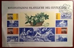 FOGLIETTO ERINNOFILO ROMA 1970 - Erinnofilia