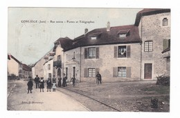 Conliège.39.Jura.Rue Neuve.Postes Et Télégraphes.9 - Autres Communes