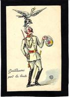 CPA Anti Kaiser Germany Satirique Caricature Non Circulé - Weltkrieg 1914-18