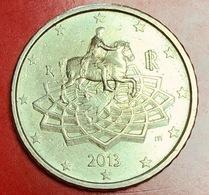 ITALIA - 2013 - Moneta - Monumento Equestre Dell'imperatore Marco Aurelio - Euro - 0.50 - Italia
