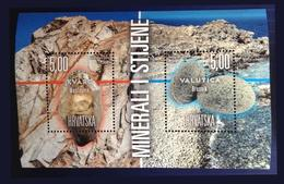 Croatia Stamр Geology 2019 Minerals - Croatie